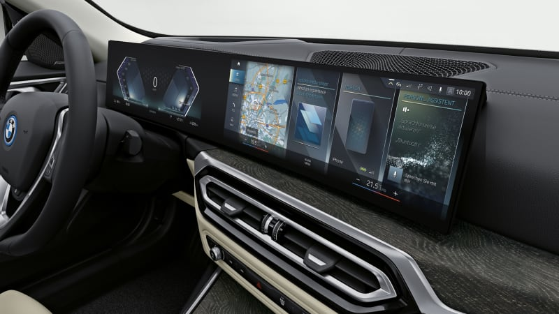 2022 BMW i4 M50 Curved Display