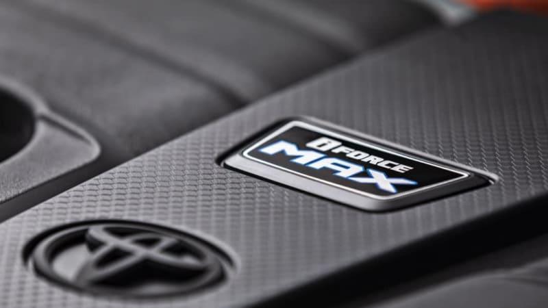 2022 Toyota Tundra iForceMAX Badge1