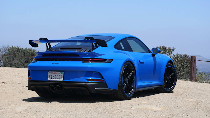 2022 Porsche 911 GT3 rear