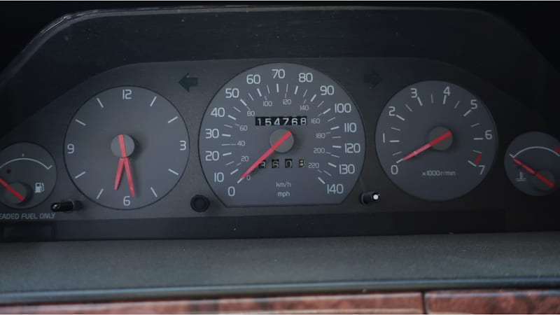 05 1997 Volvo V90 in California junkyard photo by Murilee Martin