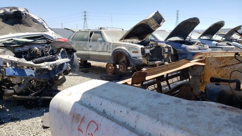 13 1966 Rambler Classic in California junkyard photo by Murilee Martin