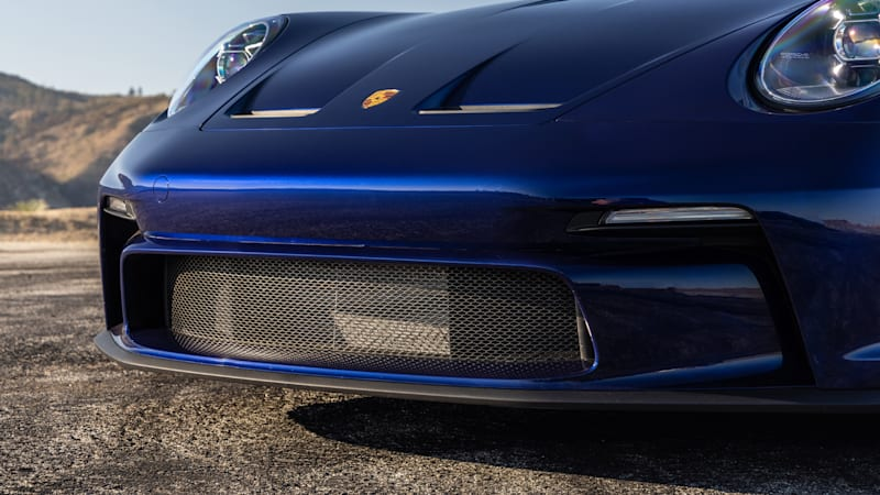 2022 Porsche 911 GT3 Touring painted fascia