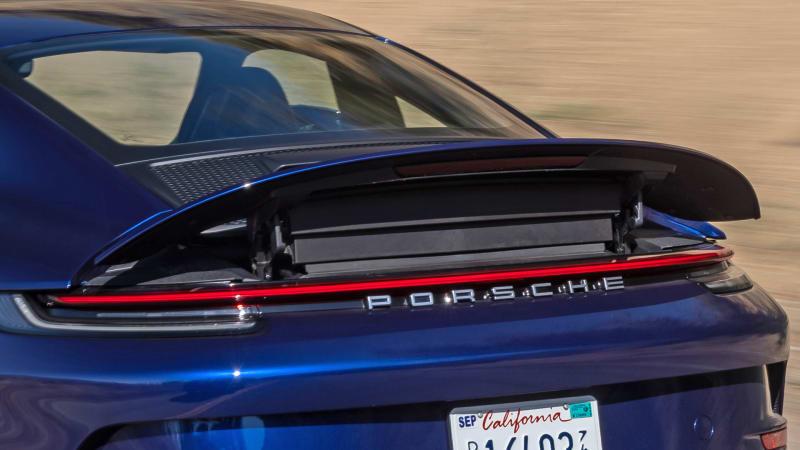2022 Porsche 911 GT3 Touring spoiler