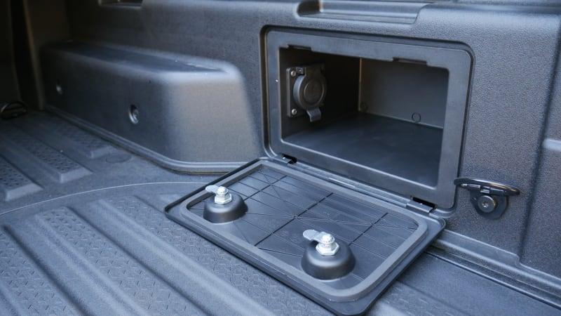2022 Hyundai Santa Cruz Pickup-Bett Überprüfung