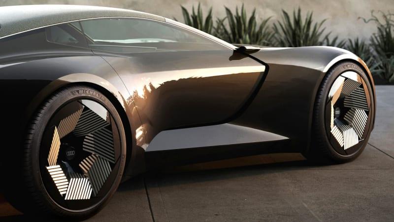 Audi SkySphere concept ist ein formwandelnder elektrischer Luxus-Roadster
