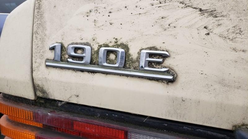 Schrottplatz-Perle: 1987 Mercedes-Benz 190E