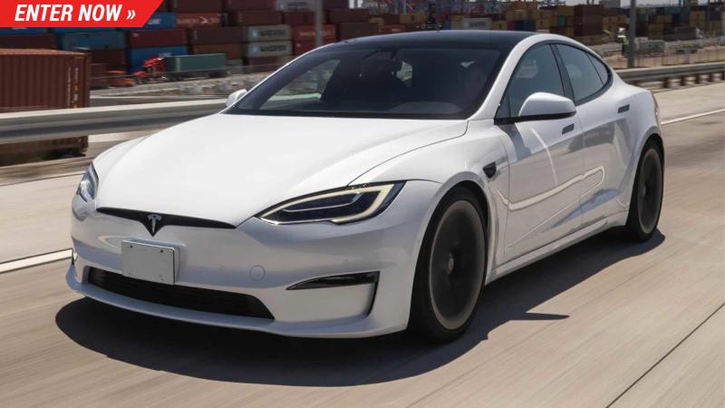 Gewinnen Sie ein Tesla Model S Plaid und erreichen Sie 60 km/h in 2 Sekunden
