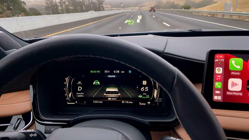 2022 Infiniti QX60 Erste Fahrt Bewertung€