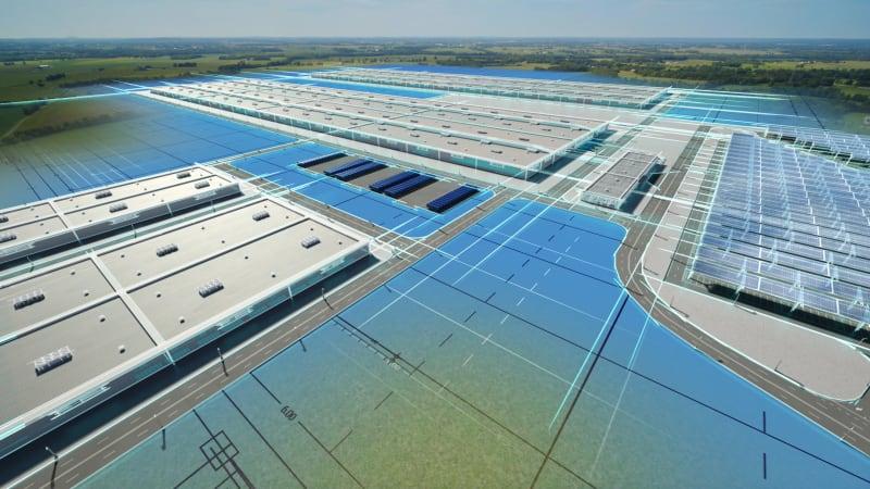 """Ford baut gigantische """"Blue Oval City"""" für die Produktion der nächsten Generation von Elektro-Lkw der F-Serie€"""