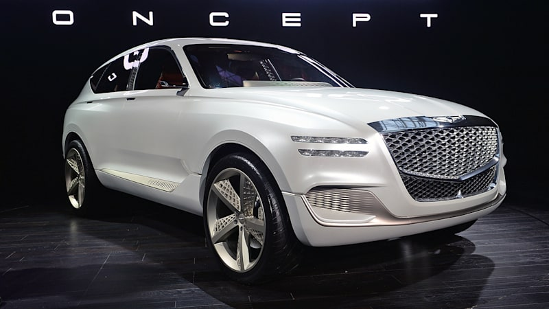 2020 Genesis GV80: News, Design, Release >> Genesis Will Release Two Suvs A City Car And A Coupe