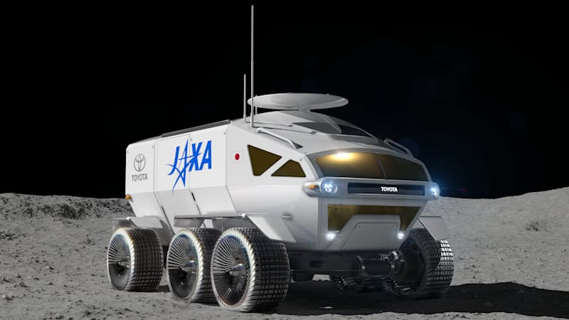 Toyota gives its hydrogen-powered lunar rover a familiar name