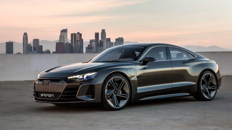 Audi E-Tron GT Concept is an electric four-door coupe