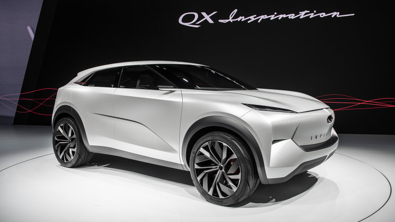 Infiniti QX Inspiration Concept SUV may be the most Japanese thing in Detroit