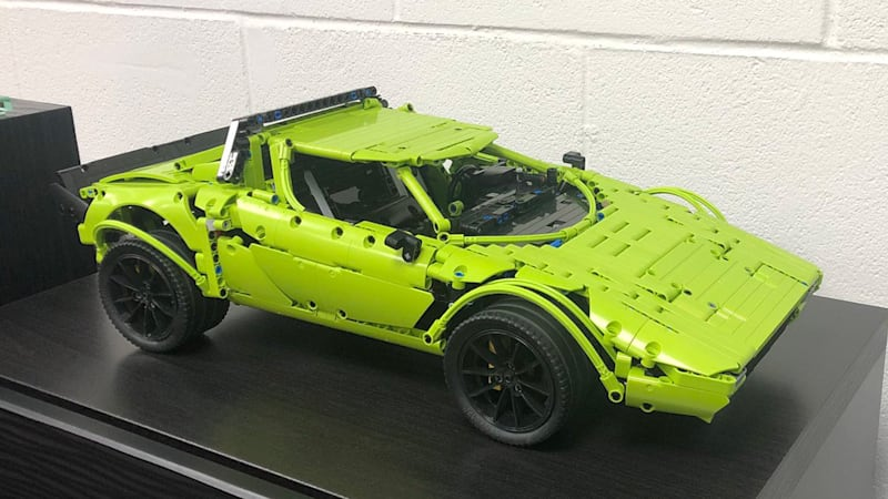 How To Build A Lancia Stratos From A Porsche Lego Kit Autoblog