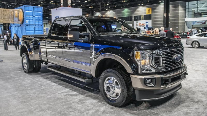 Ford Super Duty >> 2020 Ford F Series Super Duty Adds New Engine New Styling