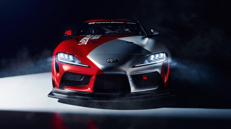 Toyota shows new Supra GT4 racing car at Geneva Motor Show