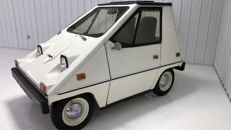 Snub Tesla's so-called early adopters with this 1976 Sebring CitiCar EV