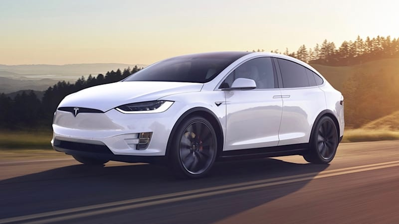 The Newest Tesla Model Odel X Electric Cars To Come Off Line This Week Are Getting A Substantial Boost In Performance And Range
