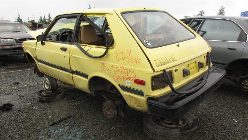Junkyard Gem: 1982 Toyota Starlet