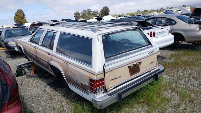 Junkyard Gem: 1983 Mercury Grand Marquis LS Brougham Station Wagon