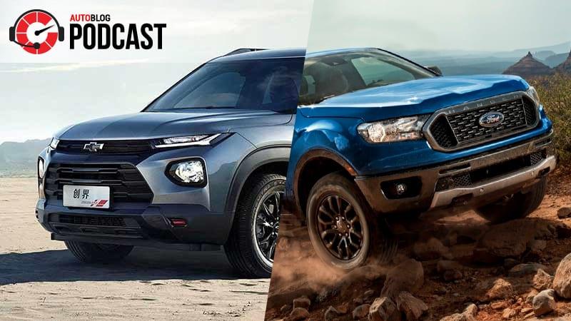 Awaiting Chevy Trailblazer, driving Ford Ranger | Autoblog Podcast #580