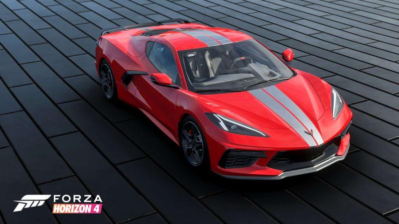 Forza Horizon 4 добавляет в список Corvette Stingray 2020 года выпуска со средним расположением двигателя
