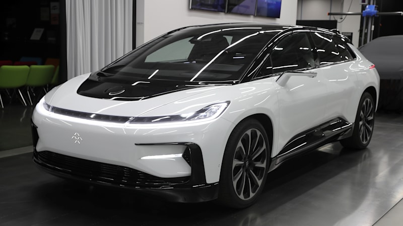 Geely says it will make EVs for Faraday Future with Foxconn