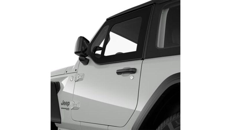 2021 Jeep Wrangler officially gets half door option package