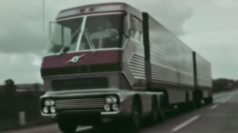 Ford's long-lost turbine semi truck 'Big Red' found, in good shape