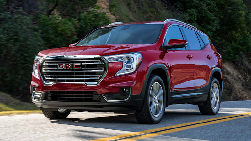 Refreshed GMC Terrain is introduced. Again.
