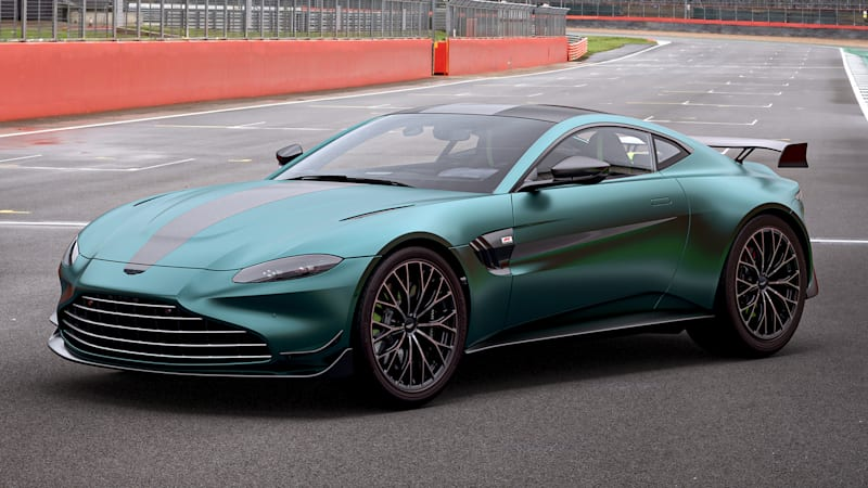Aston Martin Vantage F1 Edition adds more power, downforce