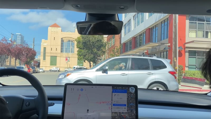 Tesla 'Full Self-Driving' Beta video shows it has a long way to go