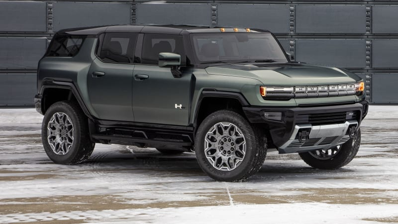 2024 GMC Hummer EV SUV revealed, priced the same as the truck