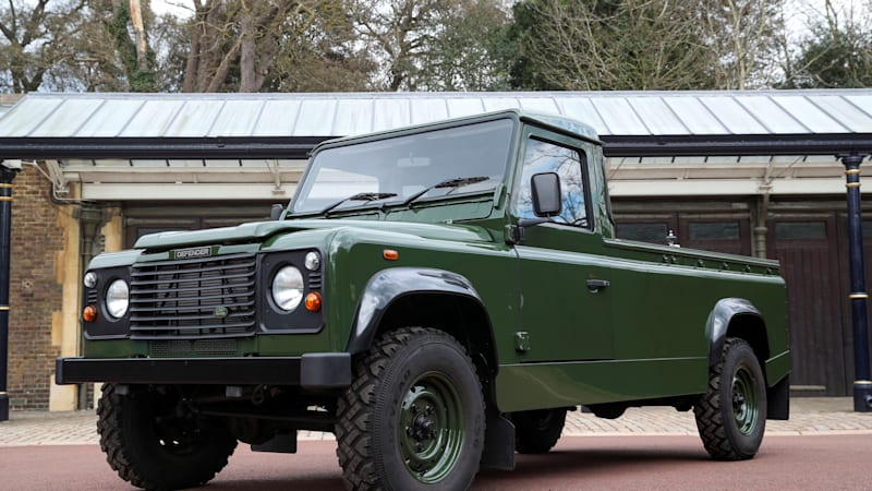 Royal Family reveals Prince Philip's custom Land Rover gun bus