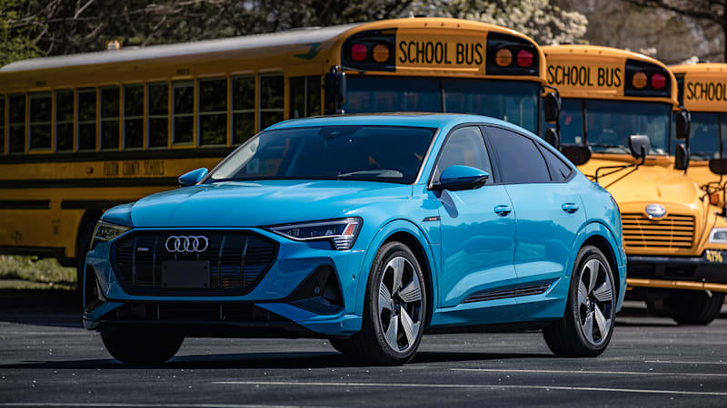Audi testing bus, school zone vehicle-to-infrastructure system