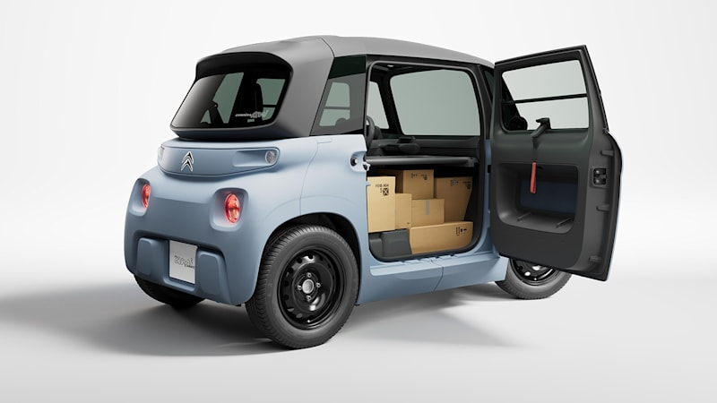 The tiny Citroen Ami is getting a cargo variant