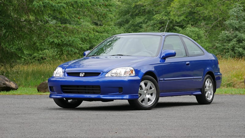 1999 Honda Civic Si Review Retro First Drive News Akmi