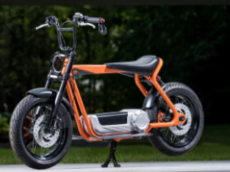 Harley-Davidson shows off ideas for future electric motorcycles