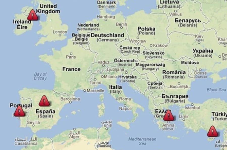 zone euro avec chypre la carte interactive des plans d aide
