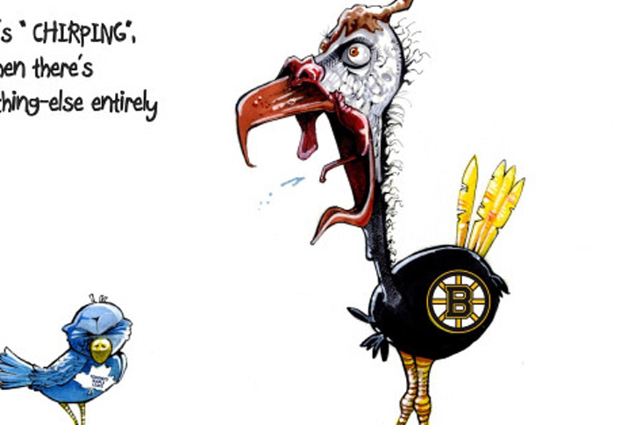 chirp chirt chirp boston bruins fans are the worst ever