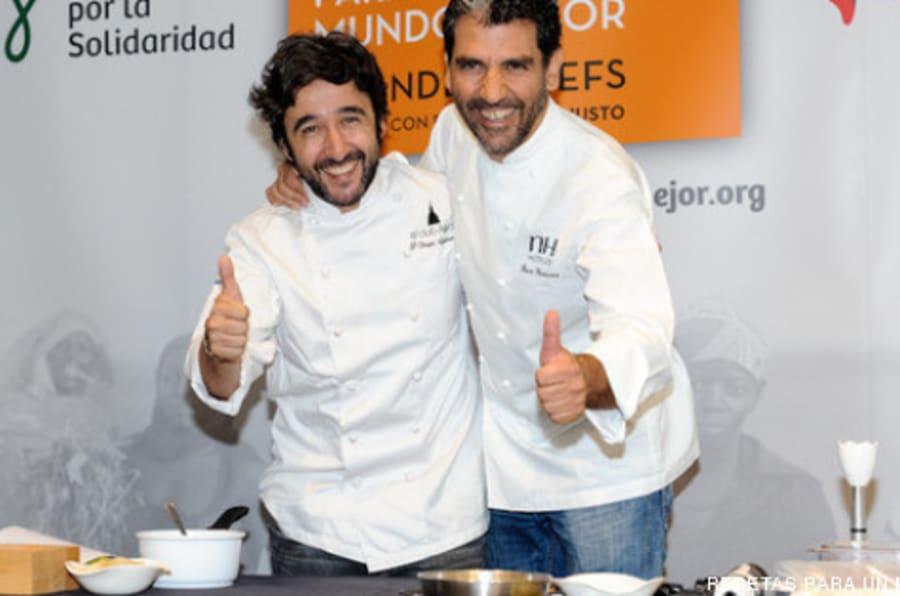 Recetas de chefs... para un mundo mejor (FOTOS, VÍDEO)