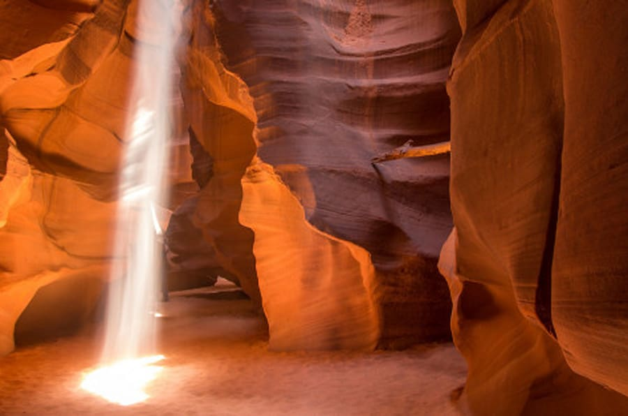 Antelope Lower Canyon Photos Will Transport You To A Land Free Of Ice