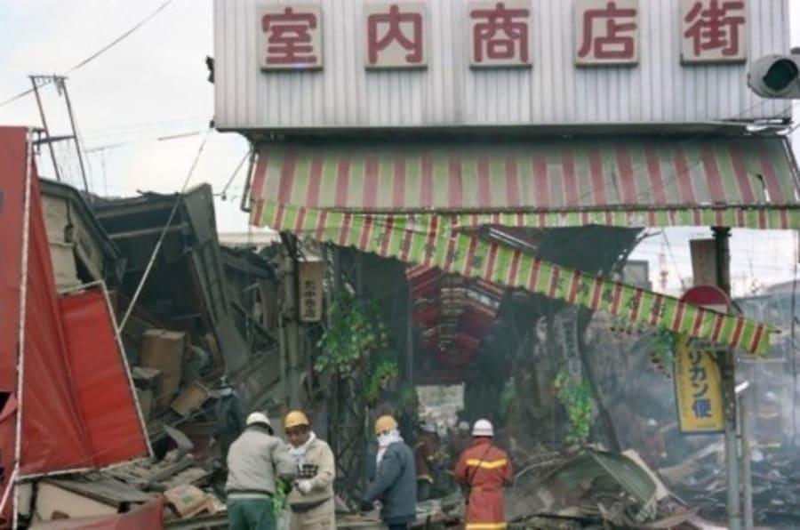画像】1995年1月17日、阪神大震...