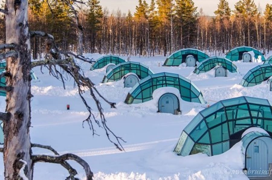 The Arctic Dream--Sleeping Under The Stars in Finland