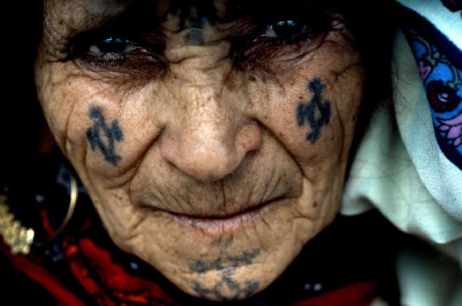 Photos Petit Manuel De Lecture Des Tatouages Berberes Dans Des