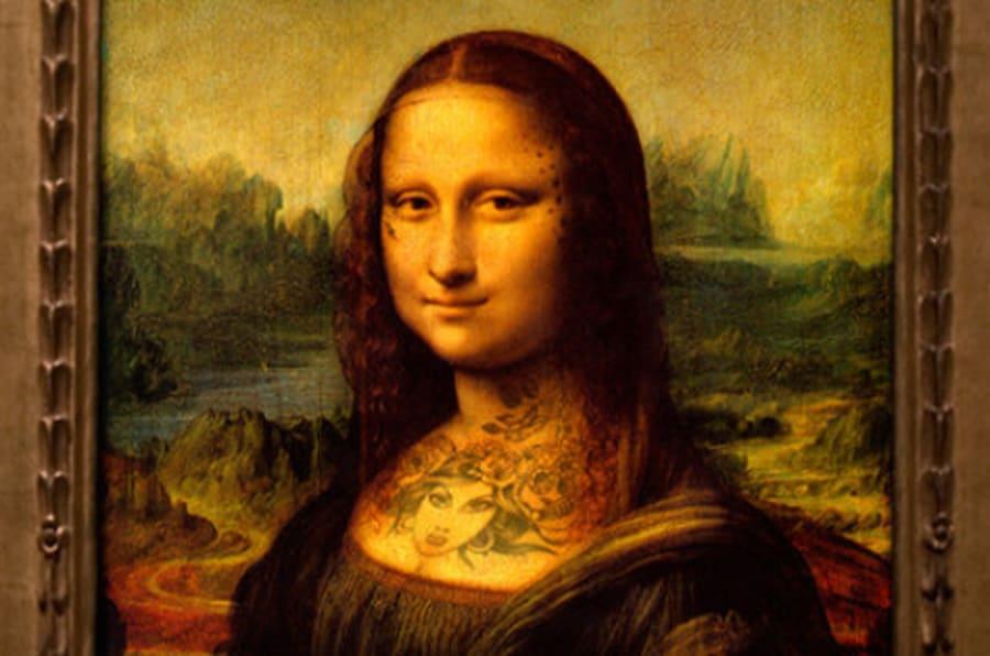 Tatuajes en obras de arte: el artista Nicolas Amiard tinta la piel ...