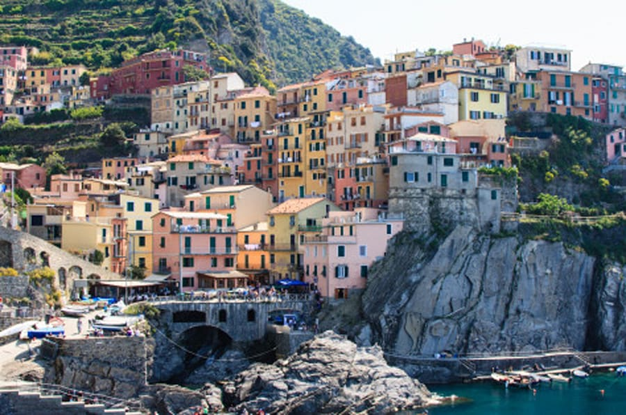 A morning in Manarola, Cinque Terre.