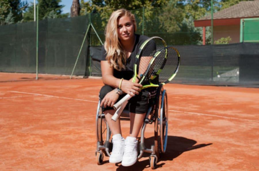 Sedie A Rotelle Torino : Giulia capocci è la promessa italiana del tennis paralimpico