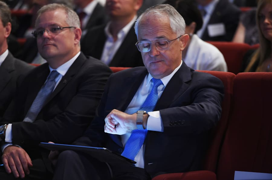 Malcolm Turnbull is settling in for a long wait to see if he remains PM.