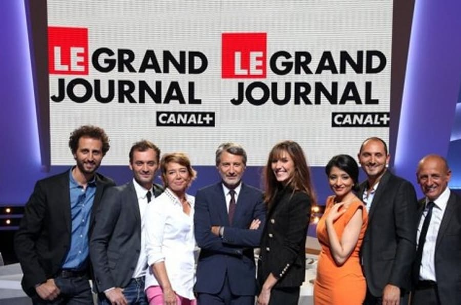 le grand journal d 39 antoine de caunes d voile sa photo de classe 2013 2014. Black Bedroom Furniture Sets. Home Design Ideas